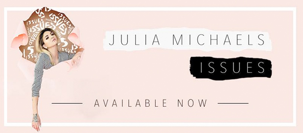 "Julia Michaels Releases ""Issues"" (Official Lyric Video)"