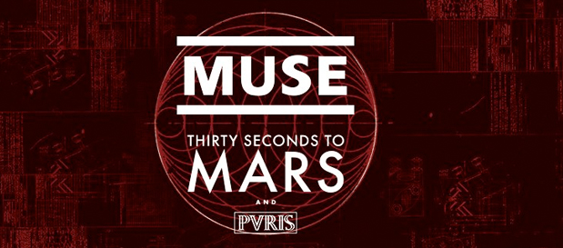 30 Seconds To Mars, Muse and PVRIS Are Going on Tour