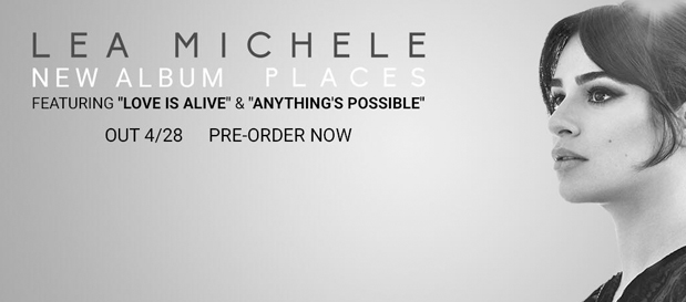 "Lea Michele Launches Album Pre-order, Releases New Song ""Anything's Possible"""