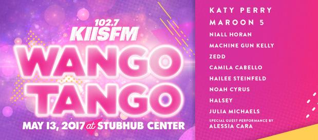 KIIS FM Announces WANGO TANGO Lineup