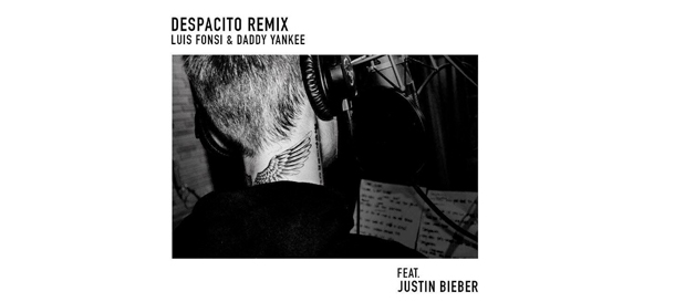 "Luis Fonsi & Daddy Yankee Release ""Despacito"" featuring Justin Bieber"