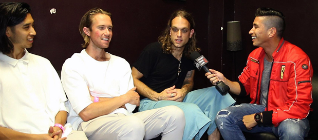 Sir Sly Interview on New Album 'Don't You Worry, Honey' w/ @RobertHerrera3