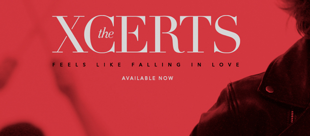 "INTRODUCING… The Xcerts Premiere ""Feels Like Falling In Love"" (Official Music Video)"
