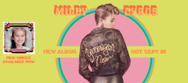"Miley Cyrus Premieres New Single ""Younger Now"" (Official Music Video)"