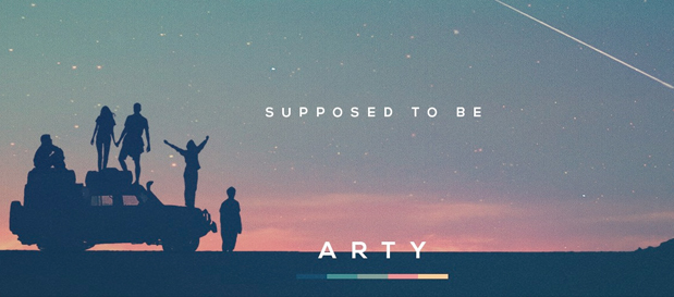 "INTRODUCING… Arty Releases New Single ""Supposed To Be"""