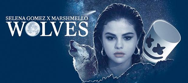 """Selena Gomez & Marshmello Team Up For New Single """"Wolves"""
