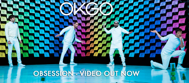 """OK GO Premiere """"Obsession"""" (Official Music Video)"""