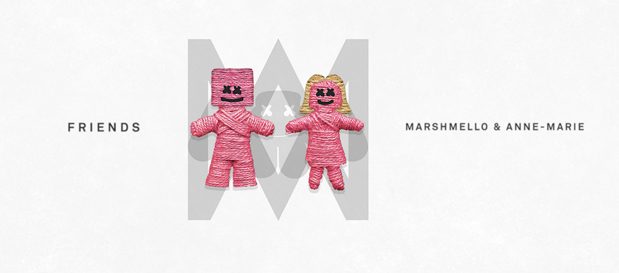 """Marshmello & Anne-Marie Release New Single """"Friends"""" (Official Lyric Video)"""
